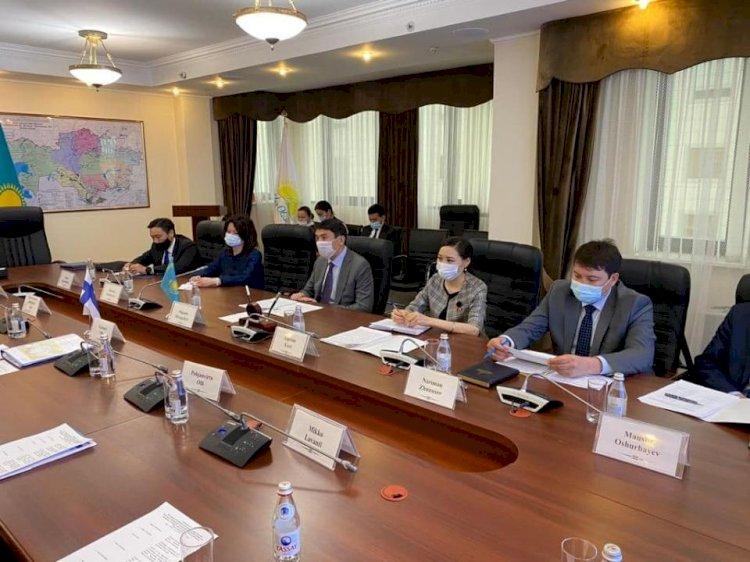 Как Казахстан и Финляндия будут сотрудничасть в области экологии