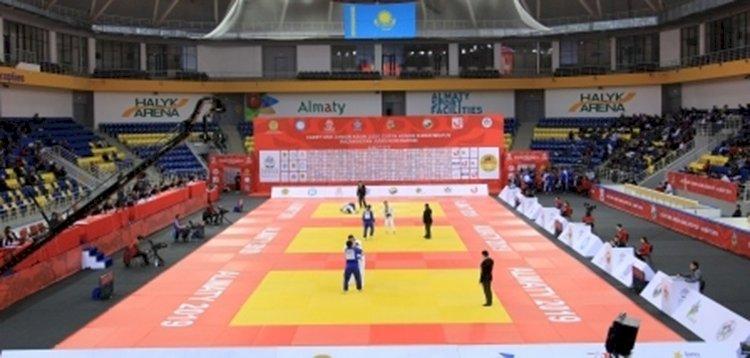 В Алматы стартовал Кубок Азии по дзюдо среди юниоров и молодежи
