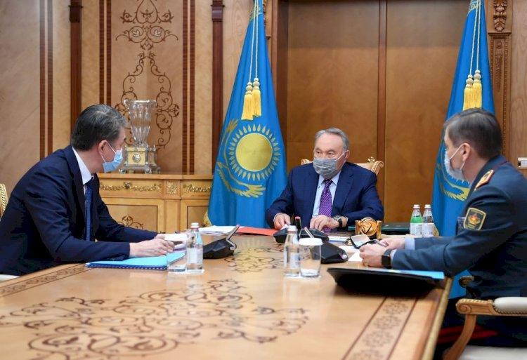 Нурсултан Назарбаев дал поручения Совету безопасности