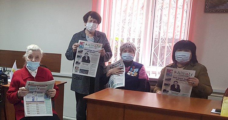 Продолжается подписная кампания на газеты «Вечерний Алматы» и «Almaty аqshamy»