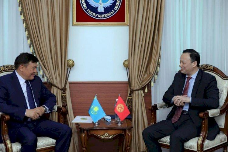 Посол Казахстана вручил копии Верительных грамот главе МИД Кыргызстана