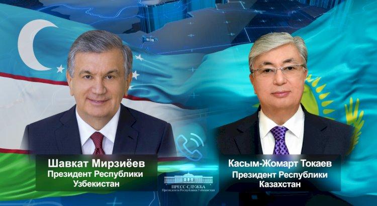 Мирзиёев поздравил Касым-Жомарта Токаева с днем рождения