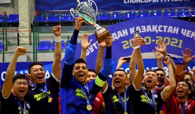 Алматинский футзальный клуб «Кайрат» стал 18-кратным чемпионом Казахстана