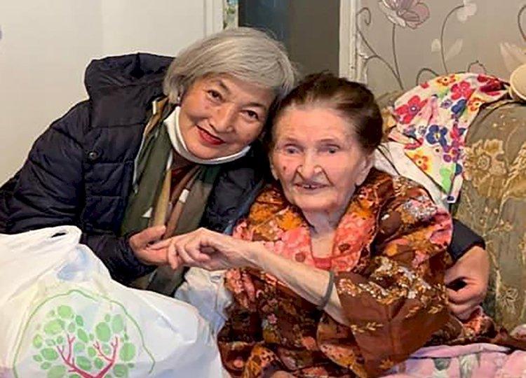Пенсионерка Менсулу Измакова уверена – совершать добрые поступки никогда не поздно