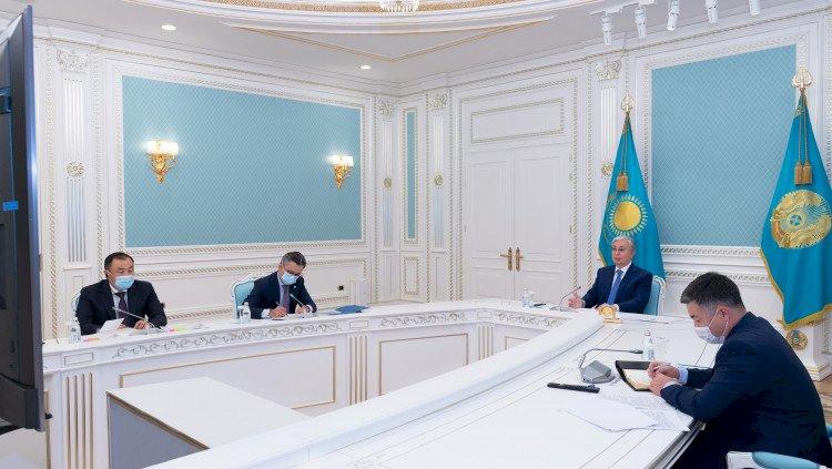Токаев провел переговоры с Президентом Швейцарии Ги Пармеланом