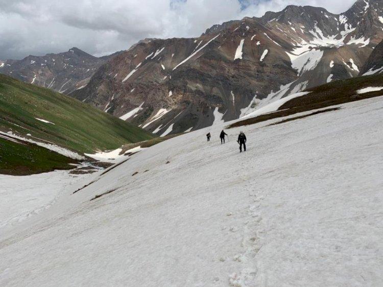 Семь человек бесследно пропали в горах Туркестанской области