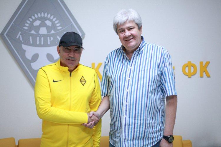 Курбан Бердыев получил должность в «Кайрате»