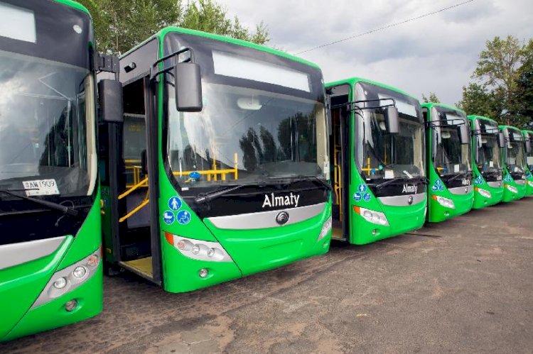 В Алматы 20 июня из-за полумарафона изменятся автобусные маршруты