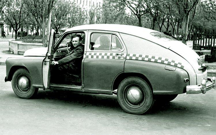 Как из века в век развивалось городское такси