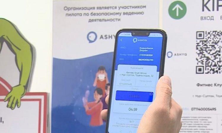 Вакцинированные казахстанцы получили «зеленый» статус в Ashyq