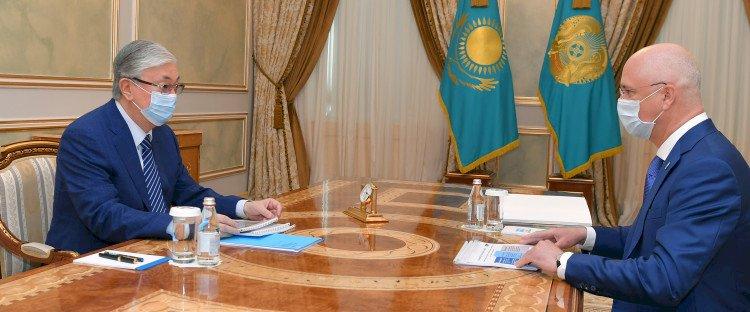 Президент Казахстана принял заместителя Премьер-министра Романа Скляра
