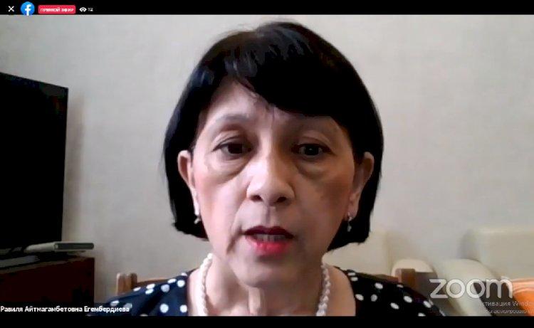 Равиля Егембердиева ответила на вопросы по вакцинации от COVID-19 – прямая трансляция