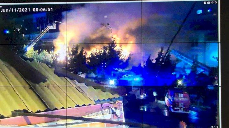 Обошлось без жертв: Пожар ликвидирован в алматинском кафе