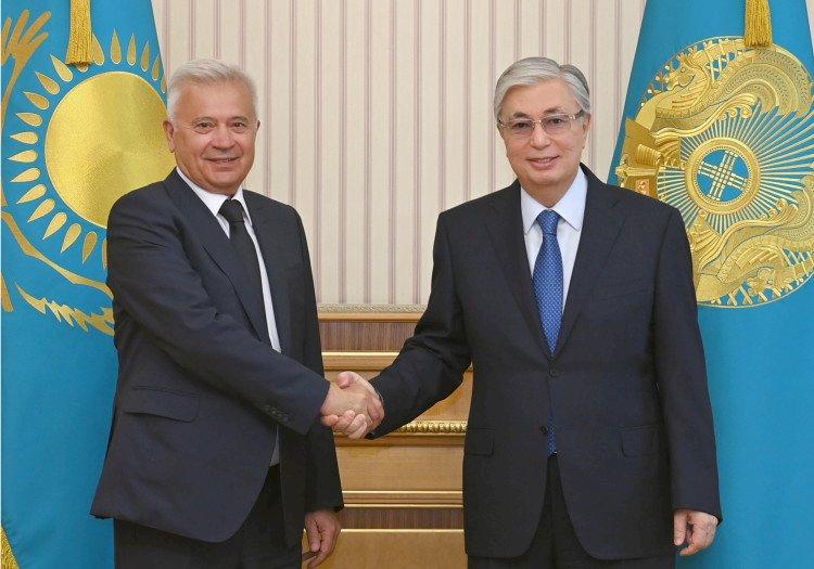 Касым-Жомарт Токаев принял главу «Лукойла»