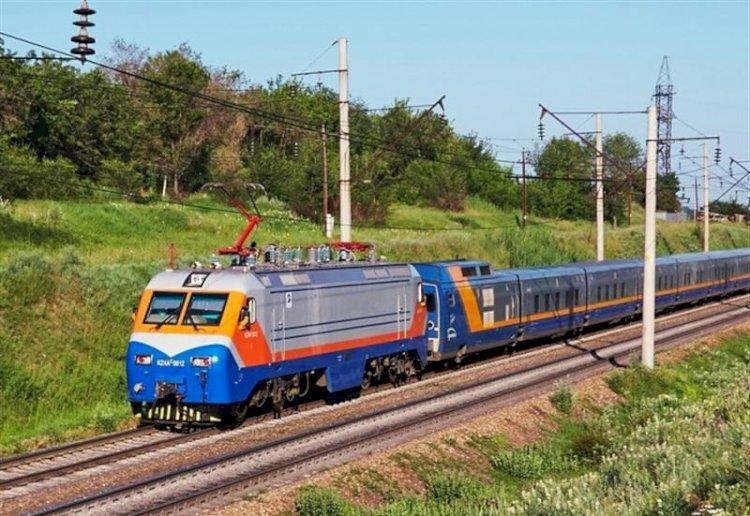 Новый поезд запустили до Алаколя