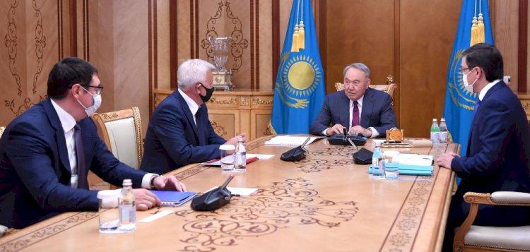 Нурсултану Назарбаеву рассказали о планах «Лукойла» в Казахстане