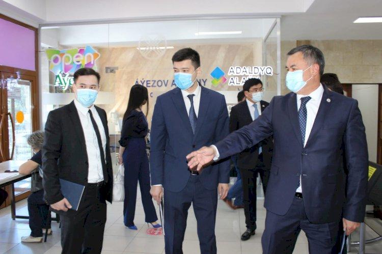 Выездную встречу провел департамент по делам госслужбы Алматы