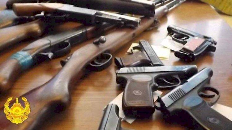 Незаконное оружие изъяли у жителей Алматинской области