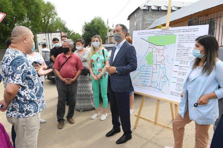 Бакытжан Сагинтаев поручил не снижать динамику развития Наурызбайского района