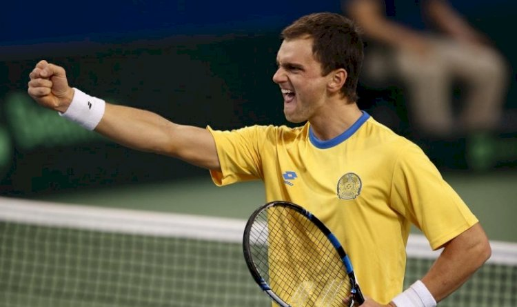 Казахстанский теннисист выиграл на турнире в Чехии