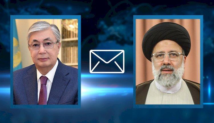 Касым-Жомарт Токаев поздравил Ибрахима Раиси с избранием на пост Президента Ирана