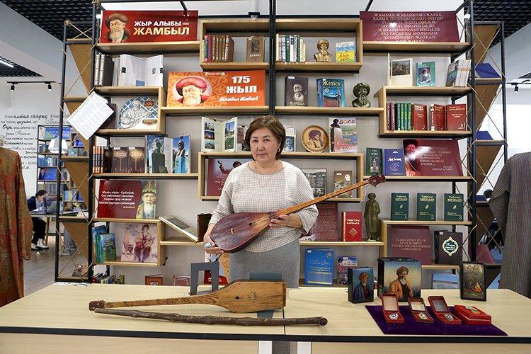 Раритеты Литературно-мемориального музея Жамбыла Жабаева  хранят память о жизни и творчестве акына