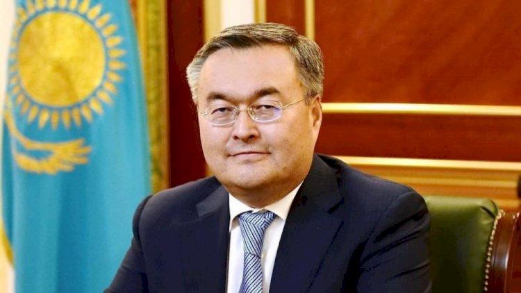 Глава МИД Казахстана посетил с визитом Азербайджан