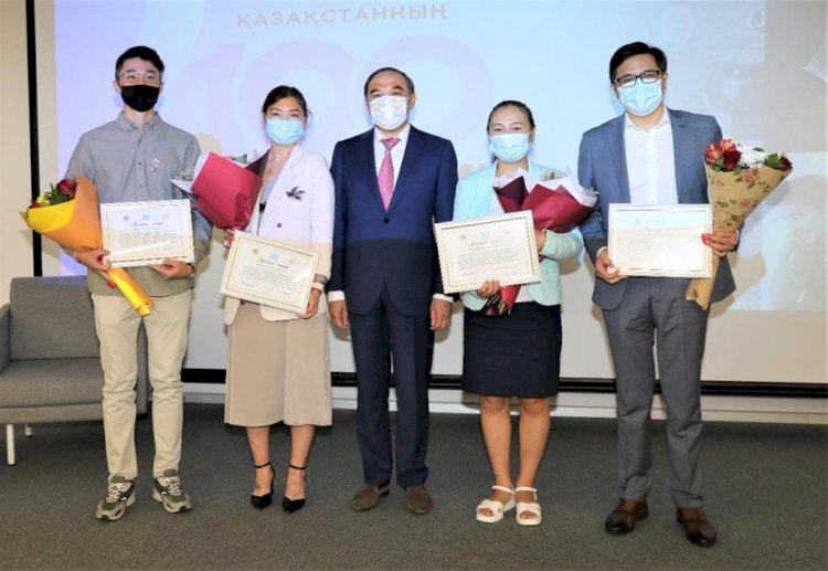 Победителей проекта «100 новых лиц Казахстана» наградили в Алматы