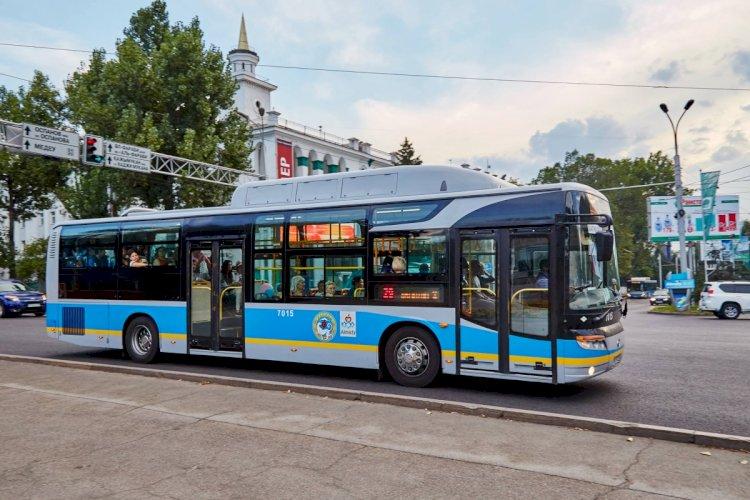 Четыре автобуса временно изменят схему движения в Алматы