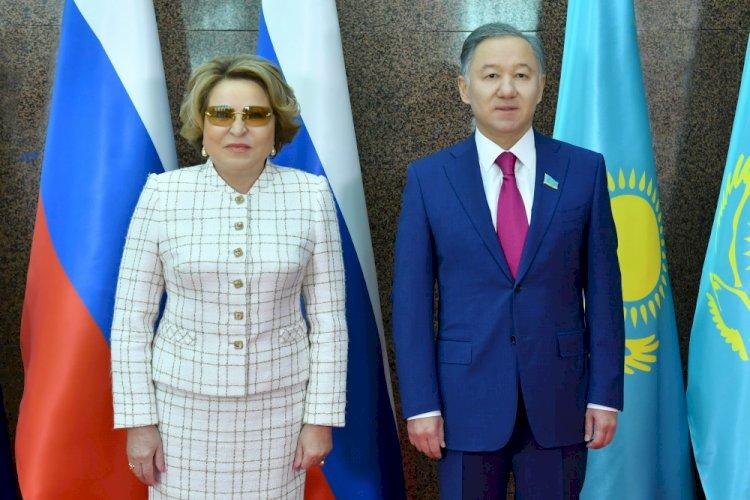 Нурлан Нигматулин и Валентина Матвиенко обсудили перспективы сотрудничества