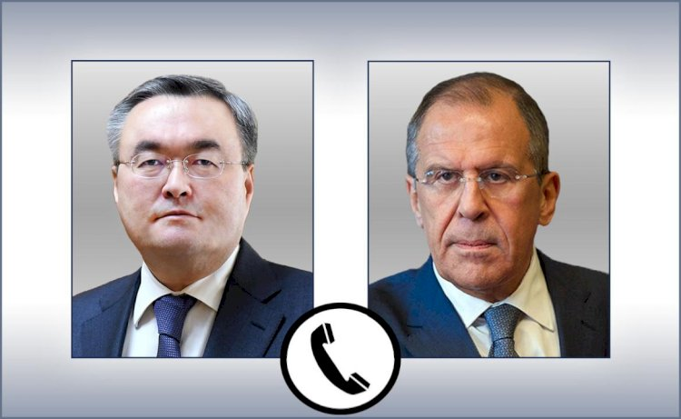Проблемы международной безопасности обсудили главы МИД Казахстана и России
