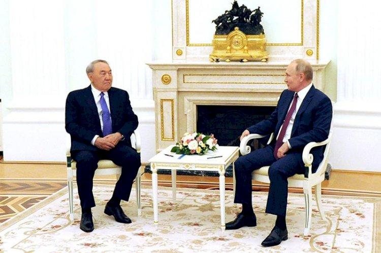 Нурсултан Назарбаев встретился с Президентом Российской Федерации Владимиром Путиным