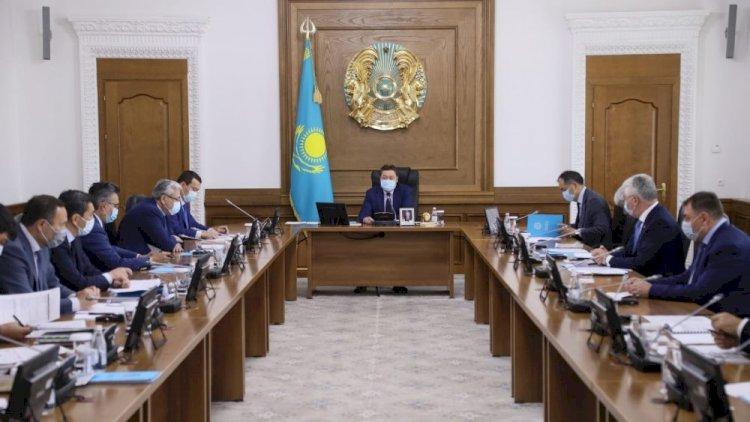 Аскар Мамин провел совещание по вопросам развития Алматинской агломерации