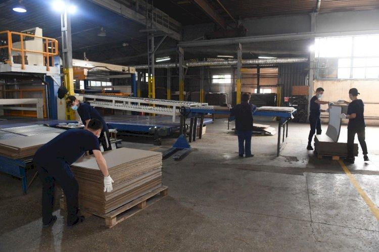 Ко Дню столицы в Алматы запущено производство гофрокартона и швейный цех