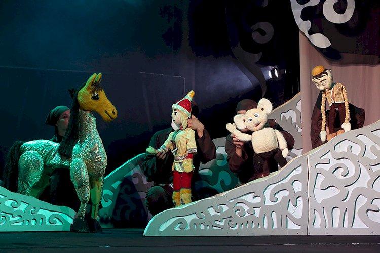 В Государственном театре кукол прошла премьера спектакля  «Ер Тостик»