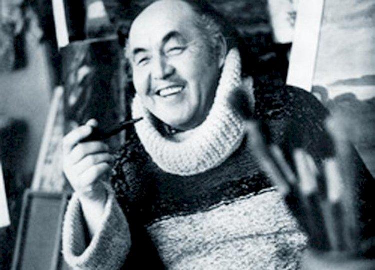 1 августа народному художнику Казахстана Сахи Романову исполнилось бы 95 лет