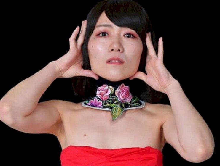 Ужас и восхищение вызывают творения японской мастерицы боди-арта