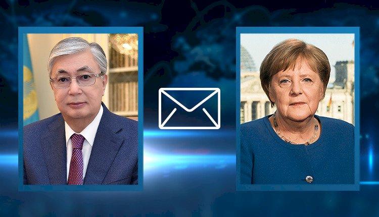 Касым-Жомарт Токаев выразил соболезнования Ангеле Меркель