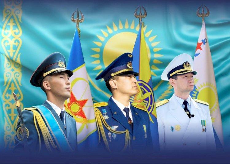 Сегодня ВС РК впервые отмечают День воинских символов