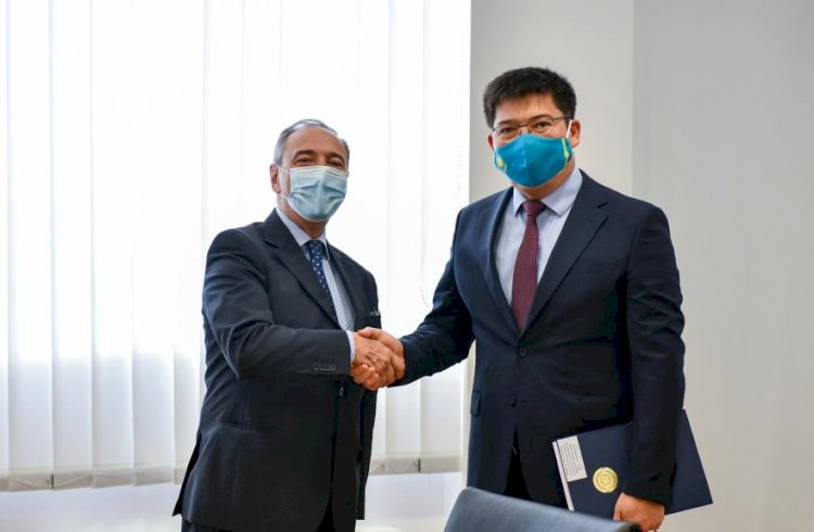 Посол Италии завершает дипмиссию в Казахстане