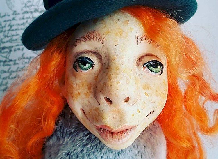Алматинка Лариса Еропкина делает уникальные куклы