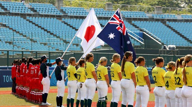 В Японии стартовали первые олимпийские соревнования