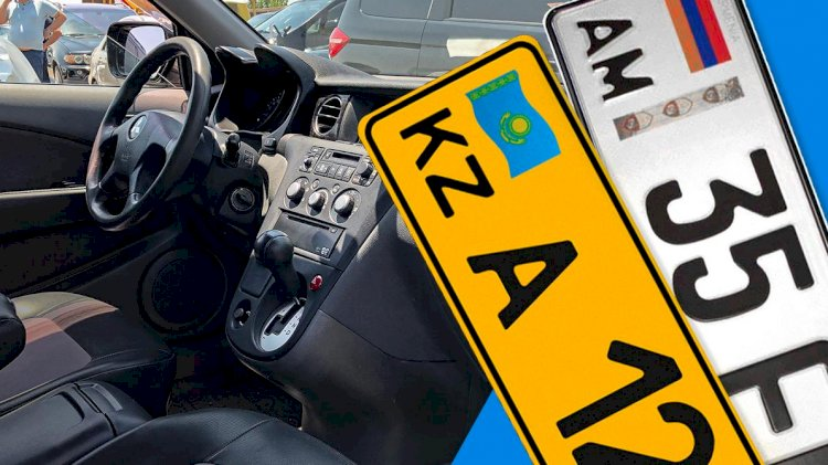 До 30 сентября авто с иностранными номерами необходимо вывезти за пределы страны
