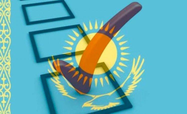 В Алматинской области 17% избирателей проголосовали на выборах