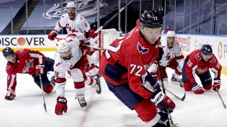 Впервые за 17 лет казахстанского нападающего задрафтовали в НХЛ