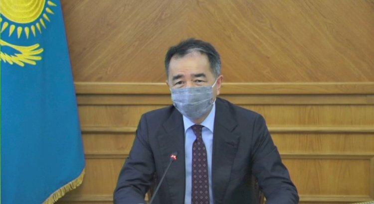 О готовности системы здравоохранения Алматы к новой волне пандемии КВИ рассказал Сагинтаев