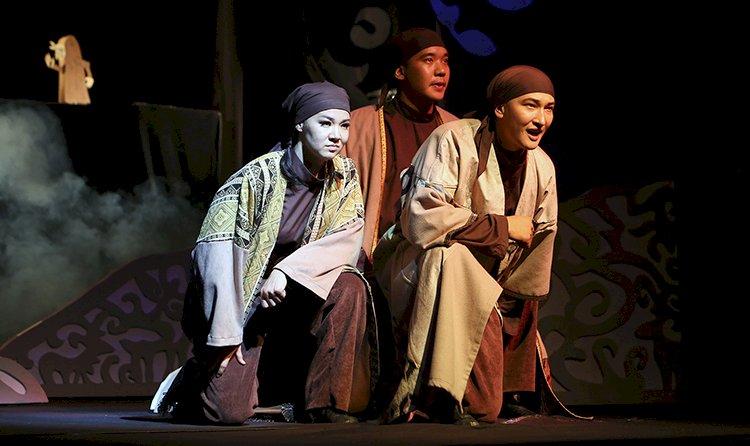 В Государственном театре кукол состоялся благотворительный показ спектакля «Ер Тостик»