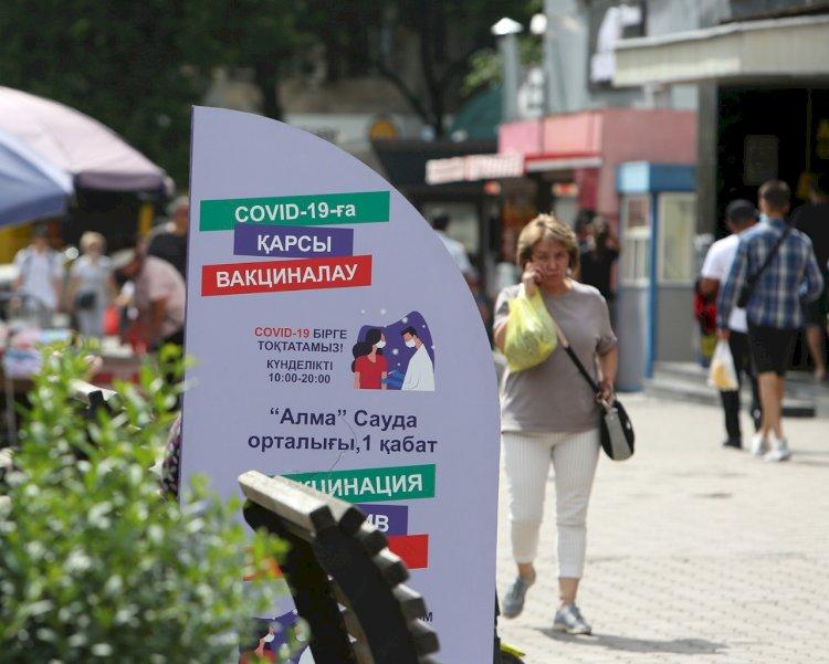 Вакцинированных жителей в Алматы пока недостаточно, чтобы стабилизировать четвертую волну коронавируса