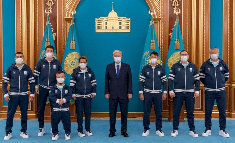 Президент пожелал паралимпийской сборной успехов