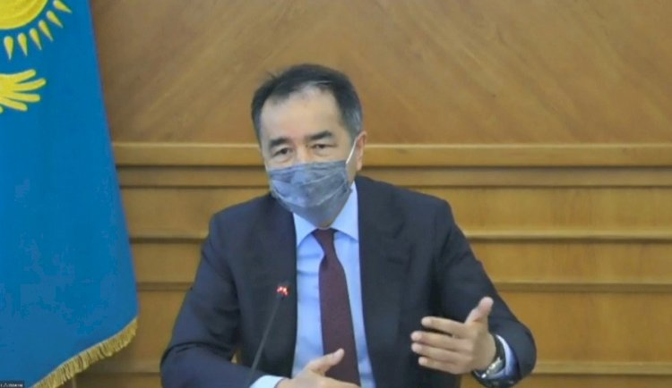 Бакытжан Сагинтаев провел совещание по вопросам нераспространения коронавирусной инфекции в Алматы
